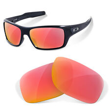 Polarized Replacement Lenses for Oakley turbine ruby red color