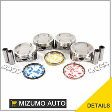 Fit Pistons and Rings 06-09 Subaru Forester Impreza Legacy 2.5L SOHC 16v EJ25