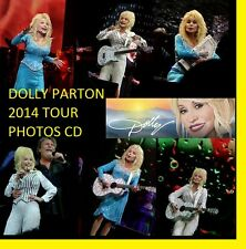 ★ DOLLY PARTON BLUE SMOKE 2014 CONCERT 600 PHOTOS CD LIVE TOUR SET  1 + 2 ★
