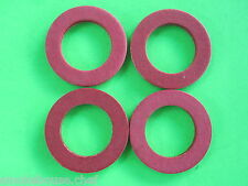 (4) #22 Fiber Fibre Washer for Hobart Meat Grinder  4822 4222 4422 8422 4622 etc