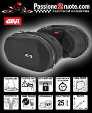 coppia di Valigie laterali Givi 3d600 bags easylock moto borse borsoni