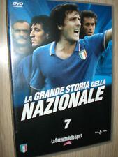 DVD N° 7 LA GRANDE STORIA DELLA NAZIONALE ITALIANA  ITALIA