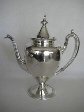 """Vintage Reed & Barton Silver Plated 3720 7 Teapot """"July 8, 1912"""", """"B"""""""
