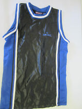 Youth Spalding Jersey, size 18, Black, Blue and White