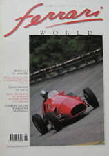 "Ferrari World magazine Issue 15 November/December 212 Inter""Ghia"",500 F2, 643 F1"