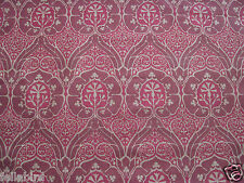 "WILLIAM MORRIS CURTAIN FABRIC DESIGN ""Voysey"" 3.30 METRES (330 cm)"