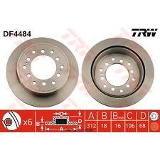 Bremsscheibe, 1 Stück TRW DF4484
