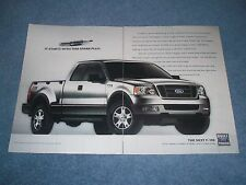 """2004 Ford F-150 3pg Pickup Truck Ad """"How Does the 3-Valve Triton V8 Engine...."""""""