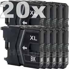 20 PATRONE für BROTHER LC985 MFC-J220 J265W J410 J415 DCP-J125 J140W J315W J515W