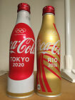 Coca Cola Japan Olympic Special Edition Rio 2016& Tokyo 2020 bottles set F/S