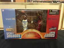 "McFarlane 8"" Carmelo Anthony and Lebron James Figures"