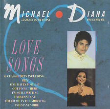 MICHAEL JACKSON / DIANA ROSS - LOVE SONGS - RARE TELSTAR CD