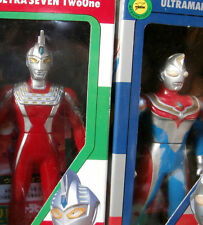 BANDAI ULTRA SEVEN 21 two one  DYNA 27 ULTRAMAN 99 6 1/2 INCHES VINYL FIGURE