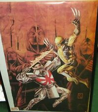 WOLVERINE MARVEL POSTER COLLECTABLE  COVER LIMITED RUN US DC COMIC