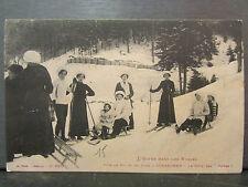 cpa 88 gerardmer fete de ski et de luge le cote des dames sport hiver skieur