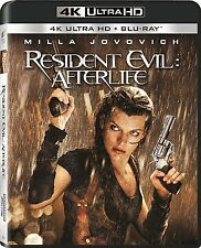 PRE ORDER: RESIDENT EVIL : AFTERLIFE   (4K ULTRA HD)- Blu Ray - Region free