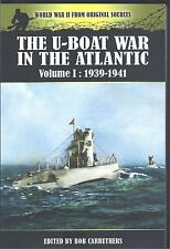 The U-Boat War in the Atlantic Volume I: 1939-1941 Bob Carruthers NEW Paperback