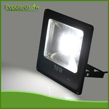 50W LED FloodlightsUltra thin  IP66 daytime Bright Outdoor Security Lights 6500K