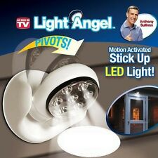 Motion Activated Light Angel, Steps Porches Decks Pathway Stair Cordless 7 LED