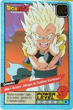 CARTE DRAGON BALL GT N-¦ 586 GOTENKS POWER LEVEL 9 VERSION FRANCAISE