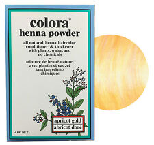 Colora Henna Powder All Natural Hair Color 60g Apricot Gold