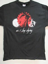 NEW - AS I LAY DYING BAND / CONCERT / MUSIC T-SHIRT LARGE
