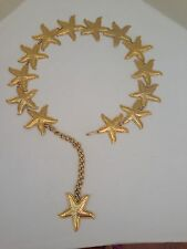 Gold Metal Stars Belt Made in Spain