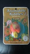 Vintage Unopen Liddle Kiddles Lucky Lion In Little Yellow Suit Animiddle Mattel