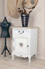 Vintage Table De Chevet Blanc Table De Chevet Commode De Chevet Shabby Chic