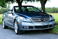 2012 Mercedes-Benz E-Class Base Convertible 2-Door