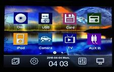 "6.2"" Double Din In-dash Car Stereo With GPS/DVD/CD/Radio/BT/Camera/Analog TV"