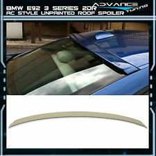 07-13 BMW 3 Series E92 Coupe 2Dr 2Door Unpainted ABS Rear AC Style Roof Spoiler