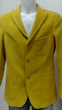 Giacca vintage velluto giallo Henry Cotton's