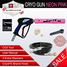 Cryo Gun - NEON Pink -Handheld CO2 Jet Special Effects Cannon CGNPI10