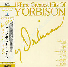 ROY ORBIRSON THE ALL TIME  GREATEST HITS  CD MINI LP WITH OBI