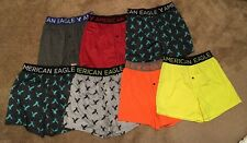 7 NWT Men's American Eagle AE Performance Boxers, X-Small