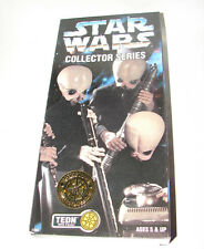 "Star Wars 12"" collectors series Cantina Band TEDN ANH EIV MISB  613"