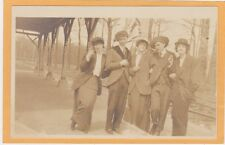 Real Photo Postcard RPPC - Men and Women Crossdressing Gay and Lesbian Interest