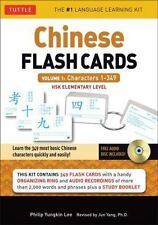 Chinese Flash Cards Kit Volume 1: HSK Levels 1 & 2 Elementary Level: Characters