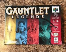 Gauntlet Legends N64 - Factory Sealed **NEAR MINT** 1998 H Seam Seal