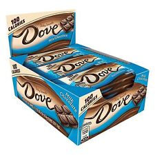 DOVE 100 Calories Milk Chocolate Candy Bar 0.65-Ounce Bar 18-Count Box