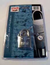 IFAM Marino Candado De 30mm. Sal Spray probado.