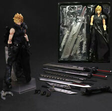 FINAL FANTASY VII 7 ADVENT CHILDREN CLOUD STRIFE PLAY ARTS KAI PVC ACTION FIGURE