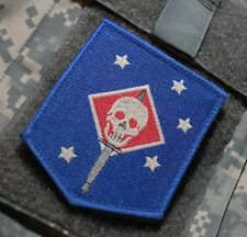 KANDAHAR WHACKER USMC GHOST FORCE RECON SP OPS INSIGNIA: SUBDUED MARSOC RAIDERS