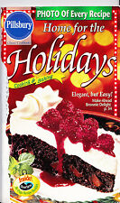 Pillsbury Classic Cookbook Home For The Holidays Cooking Baking 1999 #225 93 Pgs