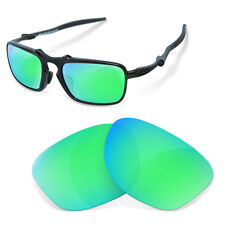 Polarized Replacement Lenses for Oakley badman sapphire green