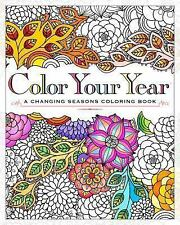 Color Your Year : A Through the Seasons Coloring Book by Workman Publishing...