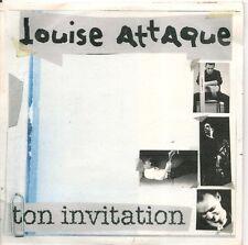 CD SINGLE 4 TITRES--LOUISE ATTAQUE--TON INVITATION--1998