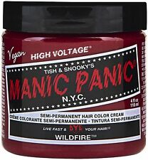 Manic Panic Semi-Permanent Hair Color Cream, Wildfire 4 oz