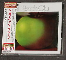 JEFF BECK GROUP Beck-Ola CD EMI-Toshiba JAPAN 2006 MINT Rod Stewart Ron Wood
